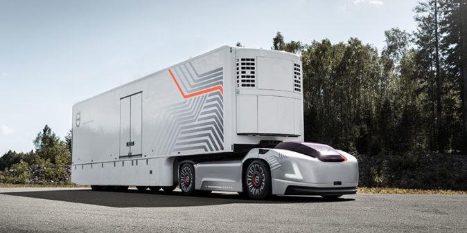 Volvo Vera - camionul electric autonom