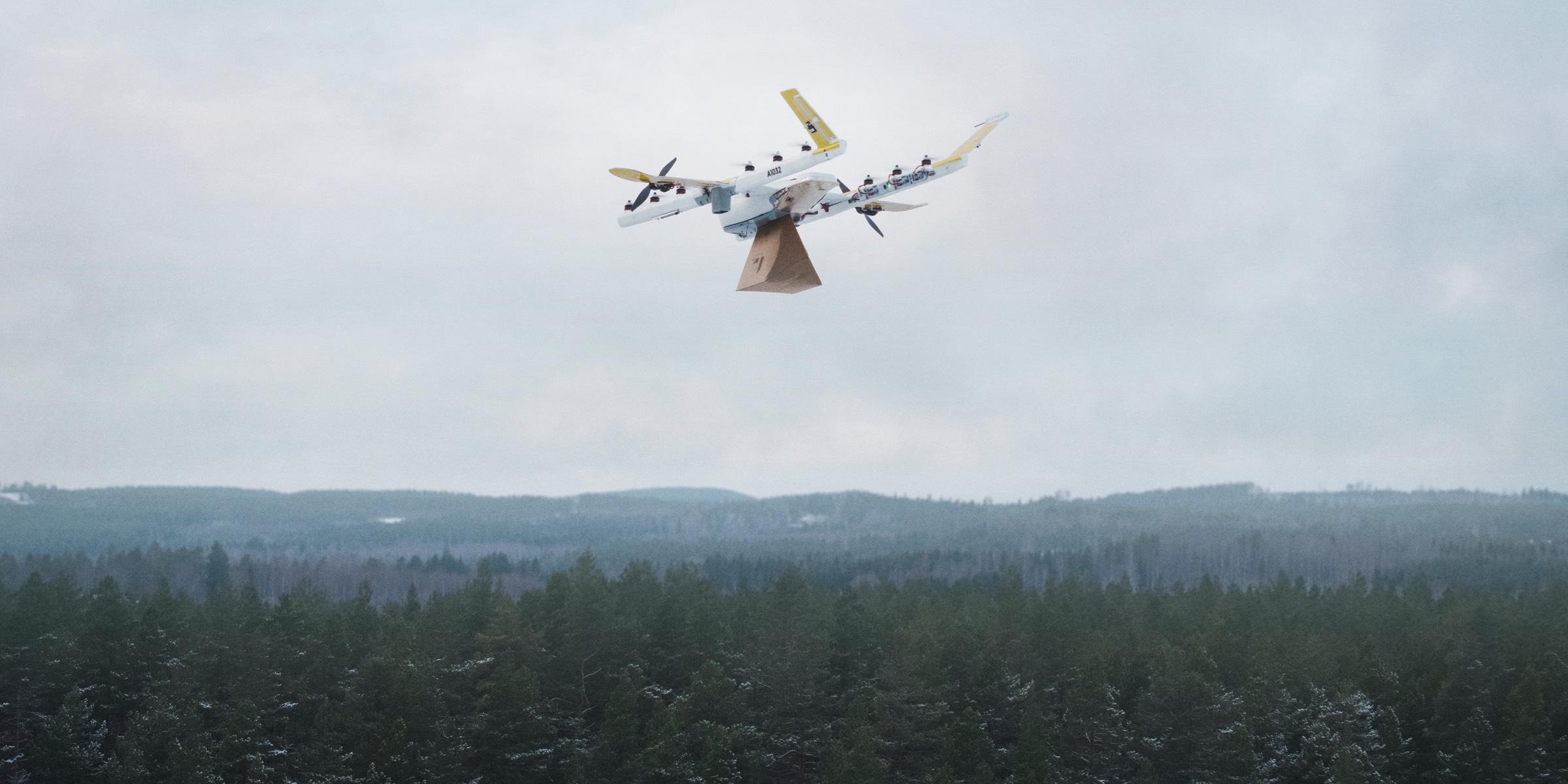 Primele drone care au primit autorizație de zbor