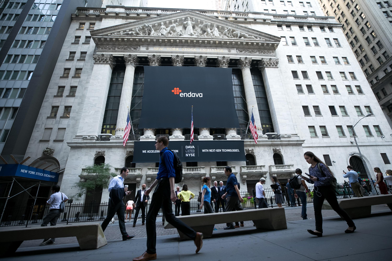 Endava romania NYSE