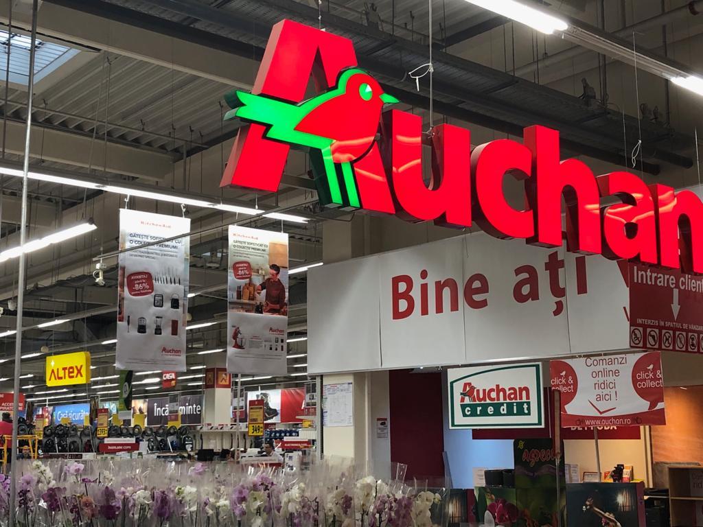 Zona cu produse electro - IT din magazinele Auchan va fi gestionată de Altex