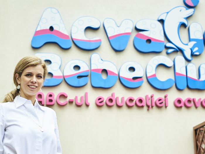 Carmen Dumitru Acvatic Bebe Club educație acvatică
