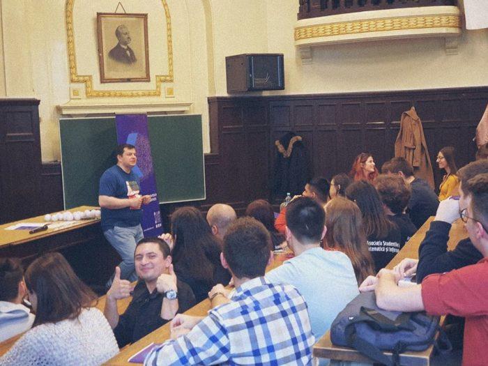 CEO Softbinator Technologies predă la Facultatea de Mate-Info