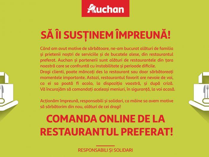 Auchan - invitatie la solidaritate