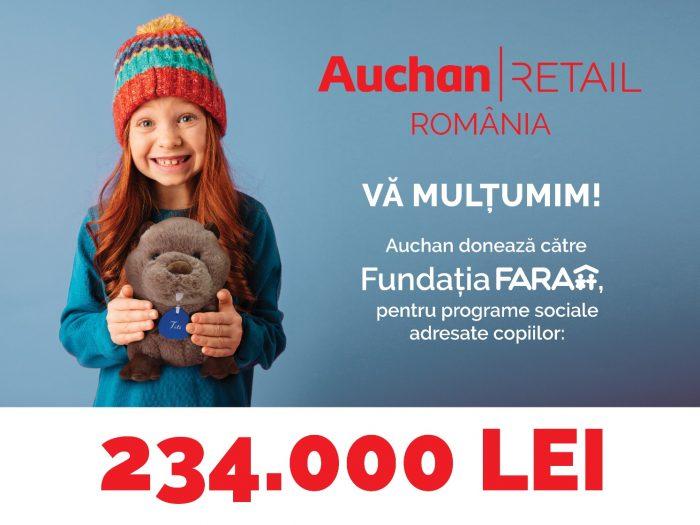 Donatie Auchan - Fundatia FARA (2)