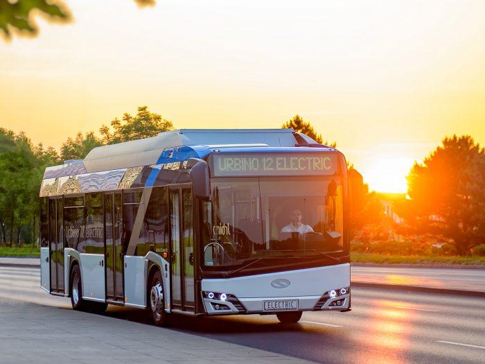 autobuze electrice Solaris Urbino 12