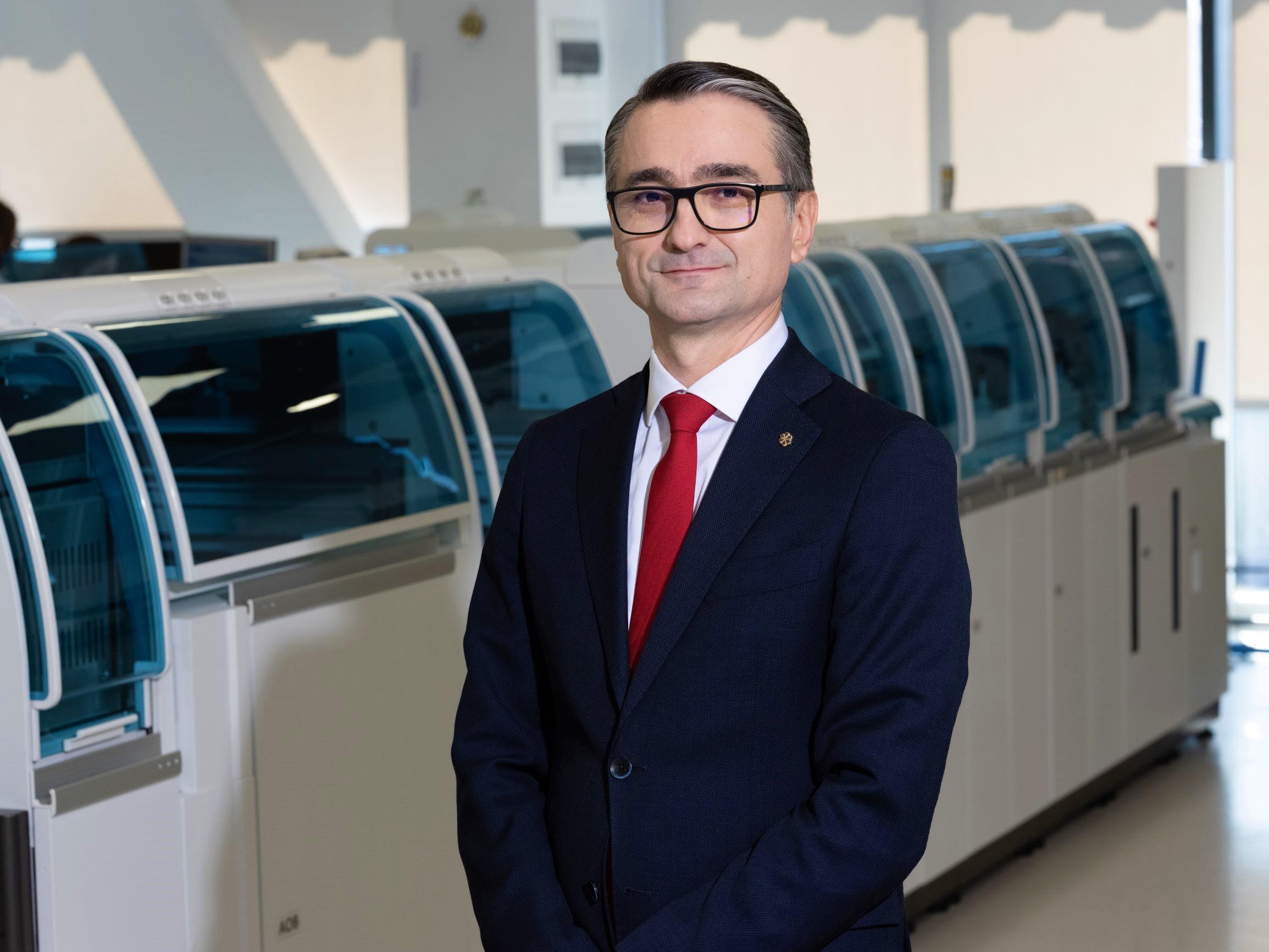 Laurentiu Luca, director general Synevo Romania