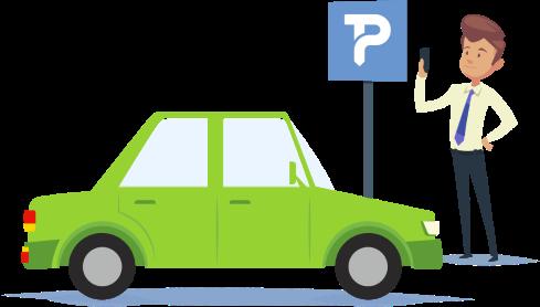 Românii preferă plata parcării prin SMS
